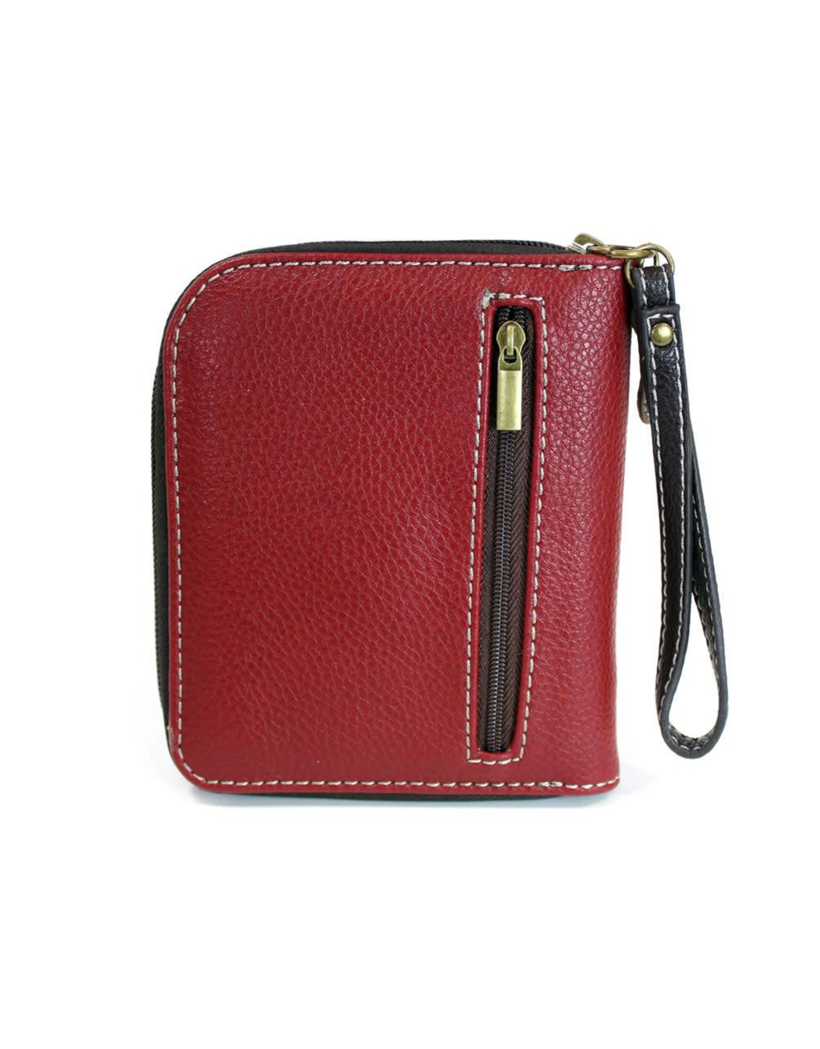 Chala Zip Around Wallet Raccoon