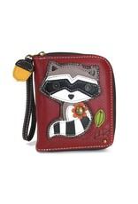 Chala Zip Around Wallet Raccoon