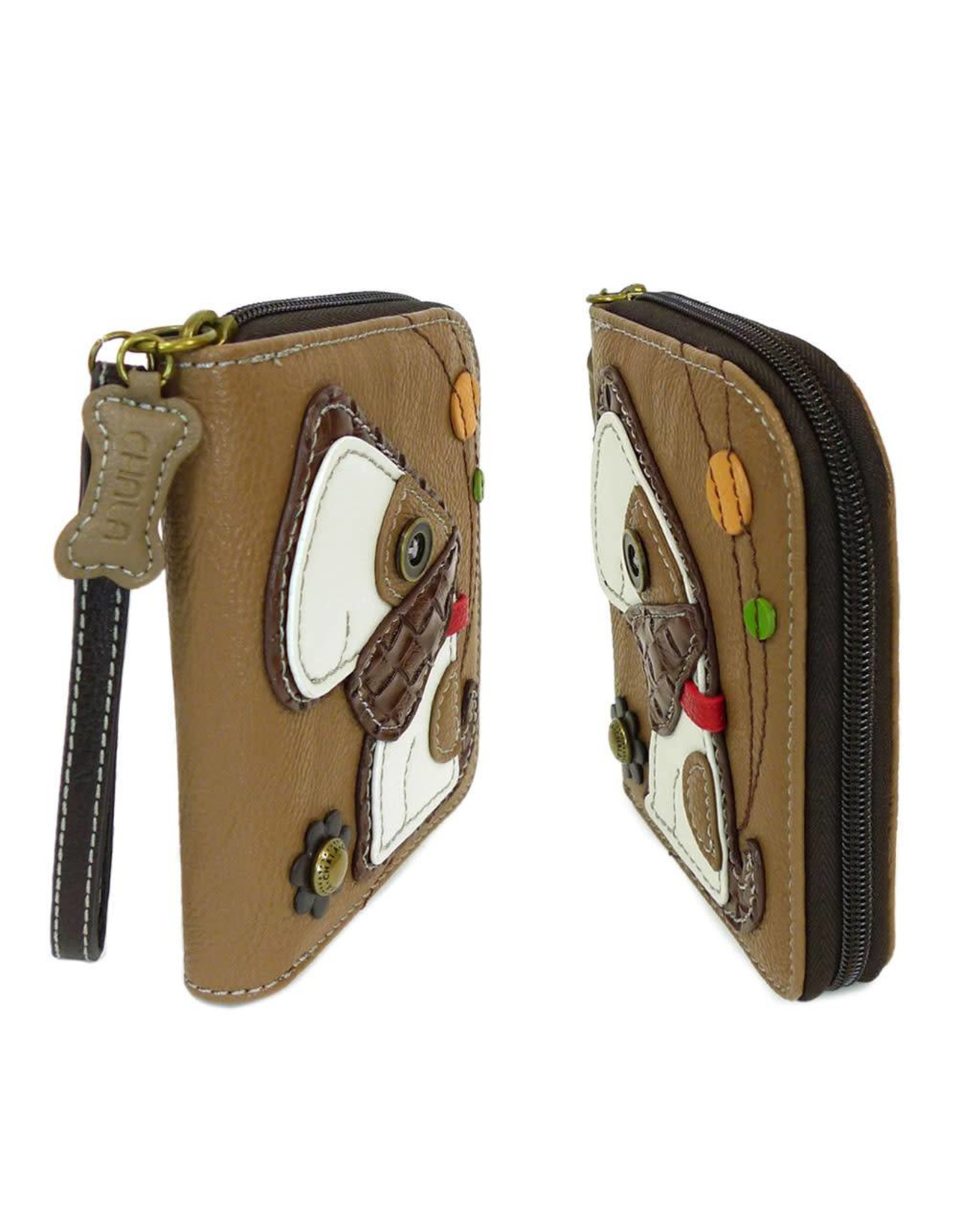 Chala Zip Around Wallet Toffy Dog