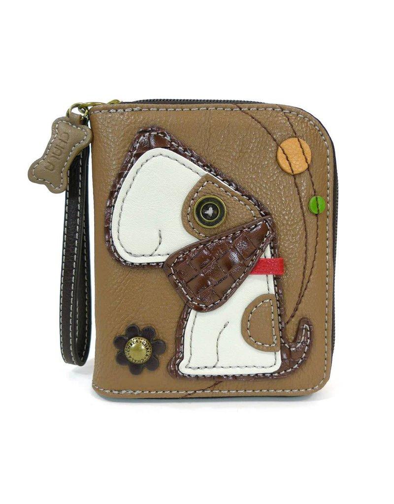 Chala Zip Around Wallet Toffy Dog