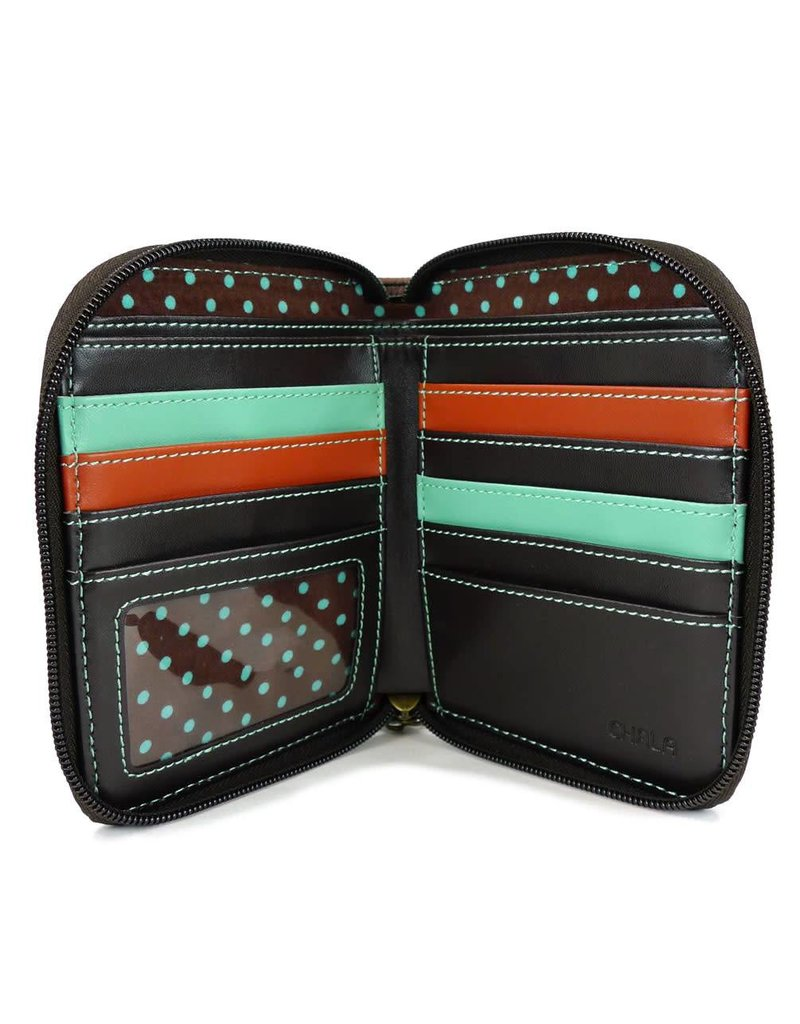Chala Zip Around Wallet Yorkshire