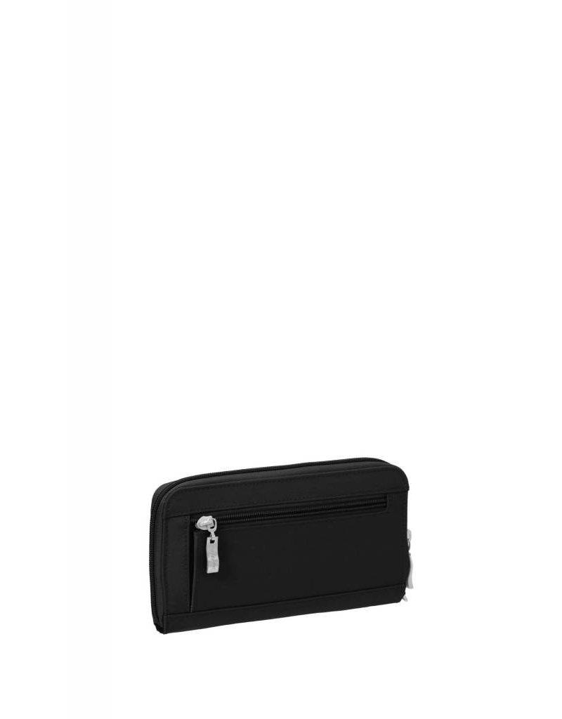 RFID Continental Wallet Black