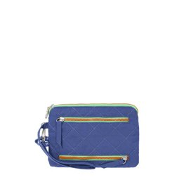 Baggallini RFID Currency & Passport Case Royal Blue