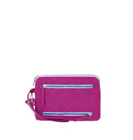 Baggallini RFID Currency & Passport Case Fuchsia