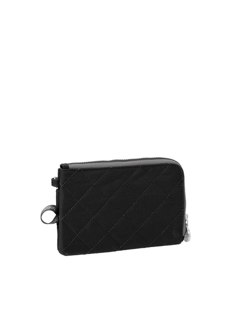 Baggallini RFID Passport & Phone Wristlet Black