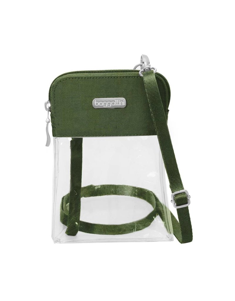 Stadium Clear Bryant Crossbody Deep Green