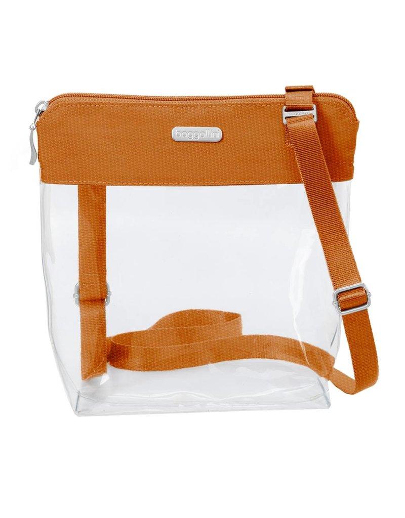 Stadium Clear Pocket Crossbody Orange