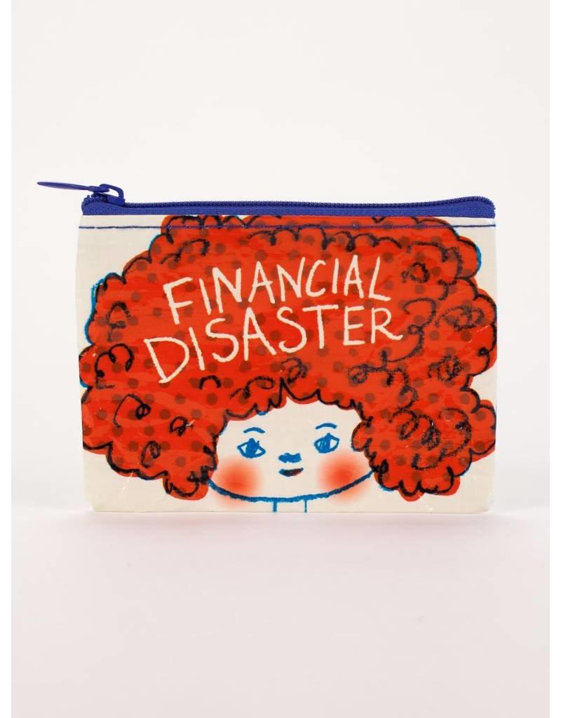 Blue Q Coin Purse Financial Disaster