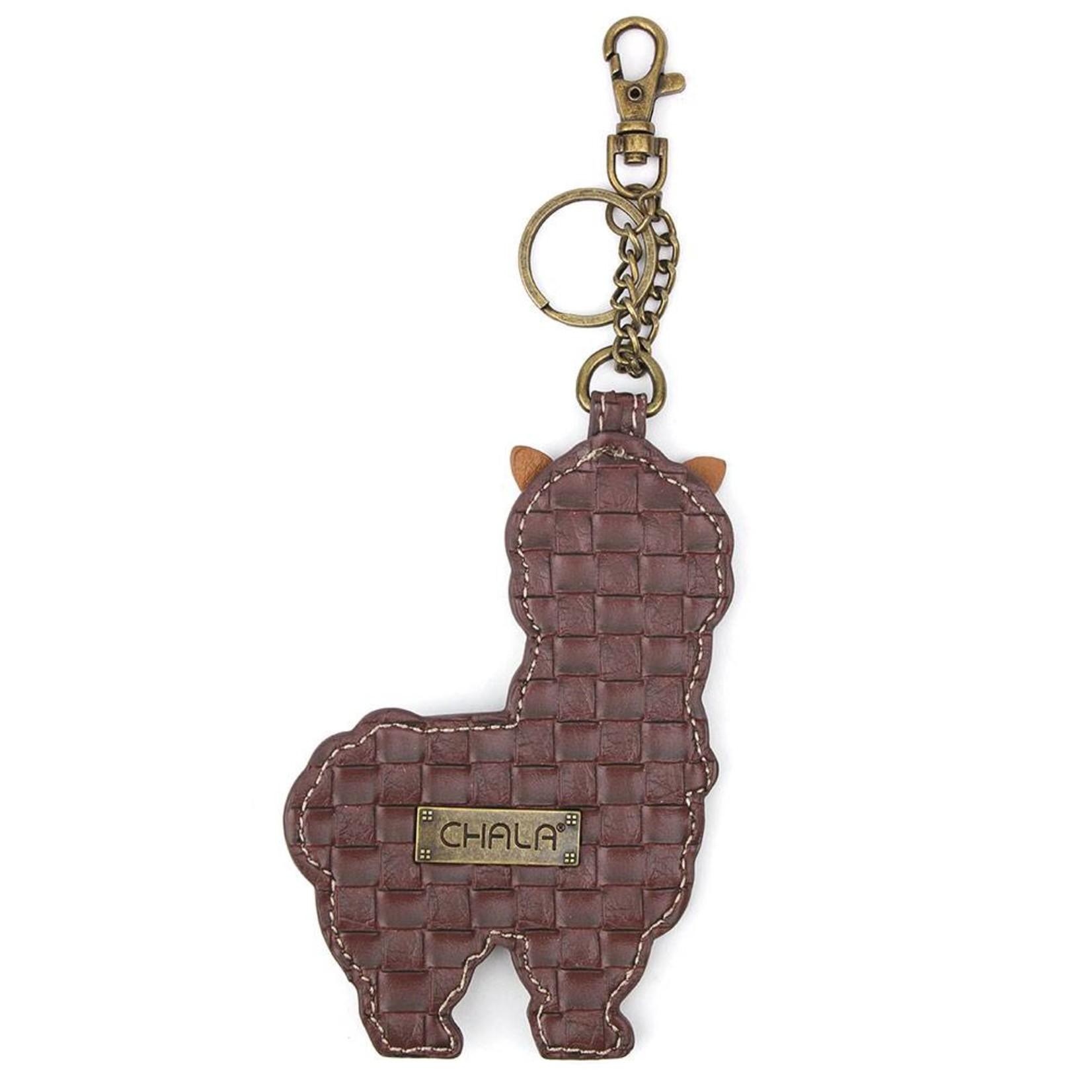Chala Key Fob Llama
