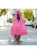 Rock Flower Paper Blu Bag Elephant Pink