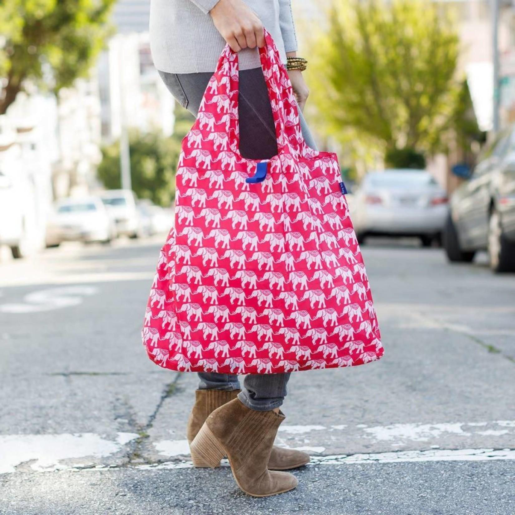 Rock Flower Paper 39-7326W Elephant Pink Blu Bag