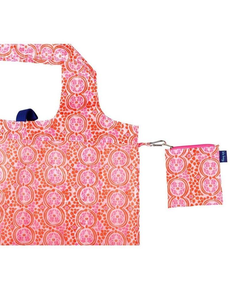 Rock Flower Paper Bella Pink Blu Bag