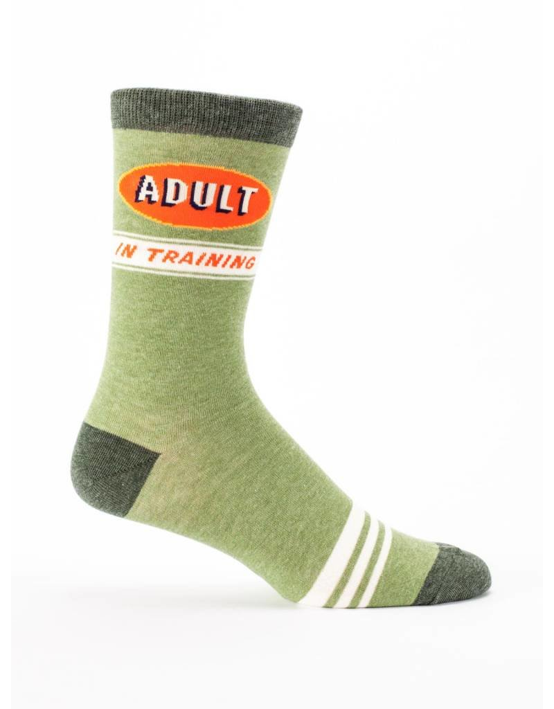Blue Q Mens Crew Socks Adult In Training