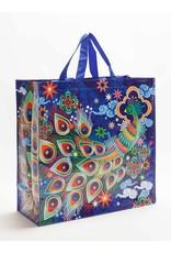 Blue Q Shopper - Peacock