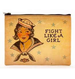 Zipper Pouch Fight Like A Girl