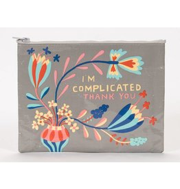 Zipper Pouch I'm Complicated