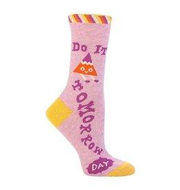 Womens Crew Socks Do It Tmr