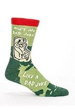 Mens Crew Socks Dad Joke