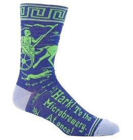 Blue Q Mens Crew Socks Hark Microbrewery