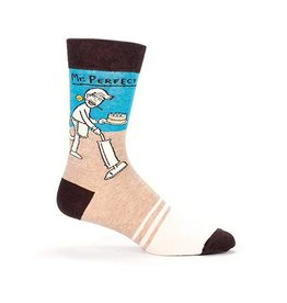 Blue Q Mens Crew Socks Mr Perfect