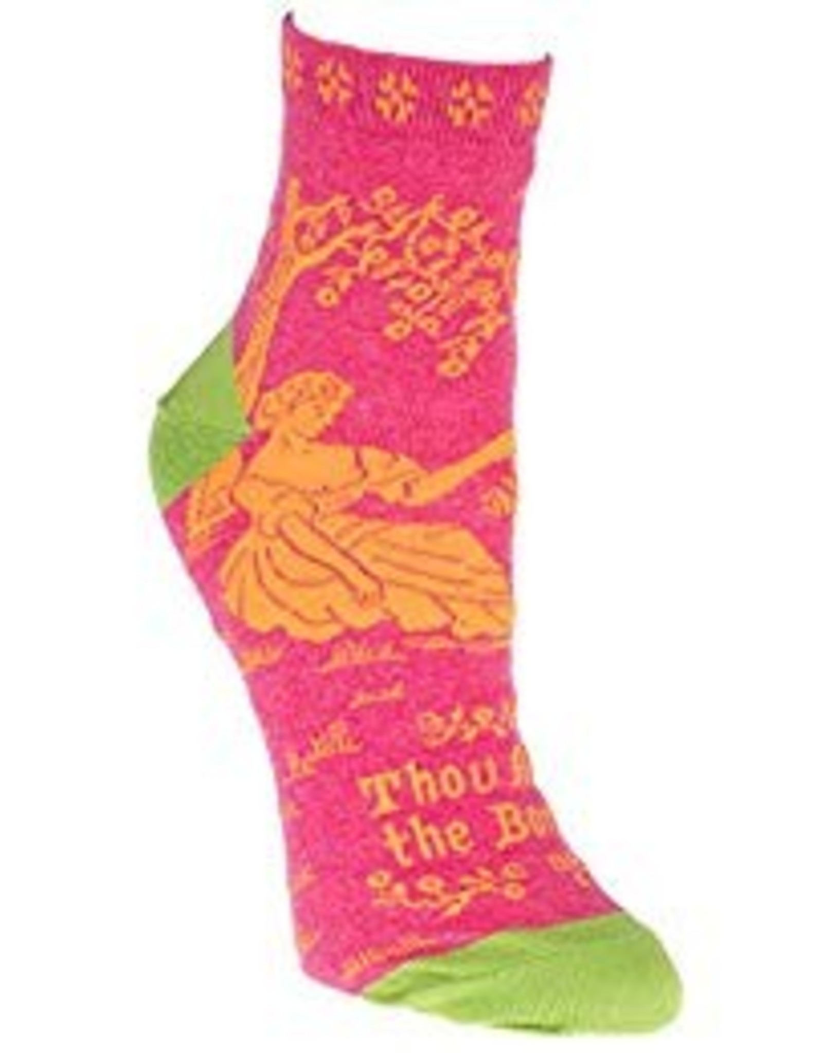 Blue Q Womens Ankle Socks - Thou Art The Bomb