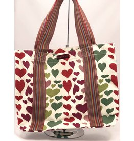 Bungalow 360 Beach Bag Hearts