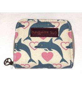 Bungalow 360 Billfold Wallet Dolphin