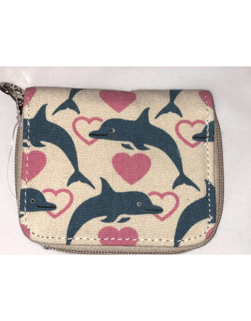 Bungalow 360 Billfold Wallet Dolphin