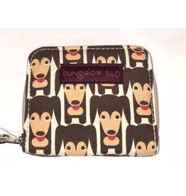 Bungalow 360 Billfold Wallet Happy Dog