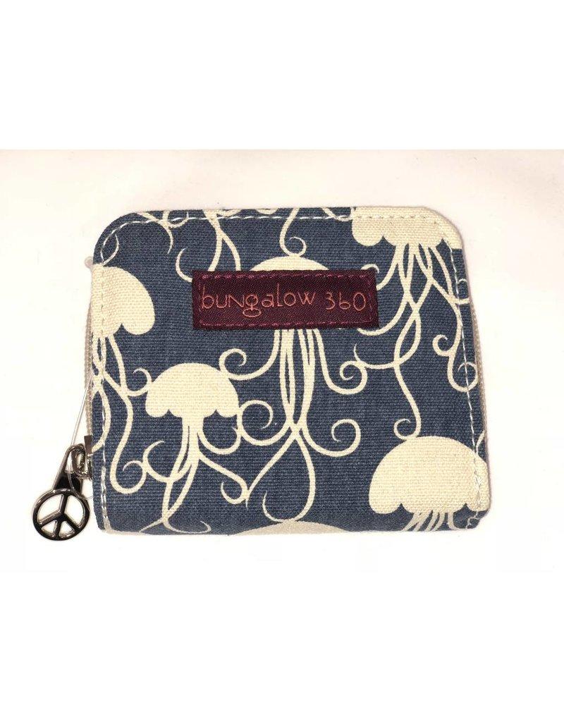 Bungalow 360 Billfold Wallet Jellyfish