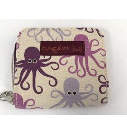 Bungalow 360 Billfold Wallet Octopus
