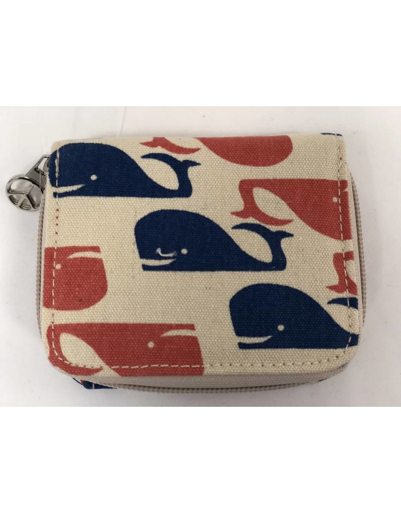 Billfold Wallet Whale