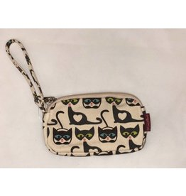 Bungalow 360 Clutch Coin Purse Cat