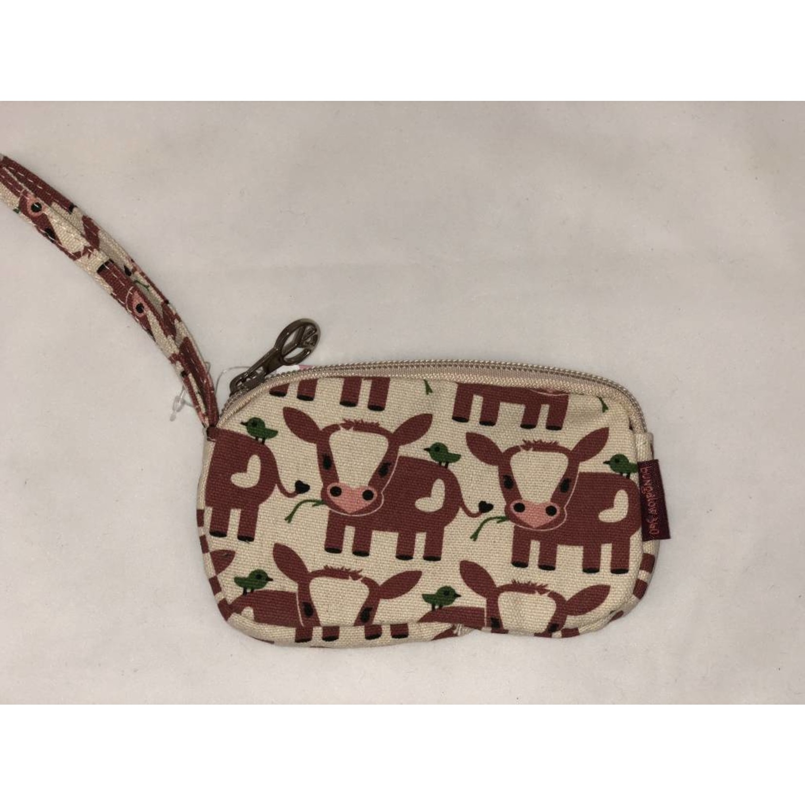 Bungalow 360 Clutch Coin Purse - Cow