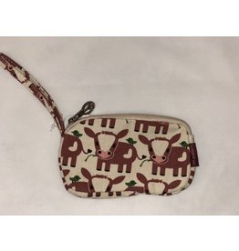 Bungalow 360 Clutch Coin Purse Cow