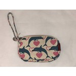 Bungalow 360 Clutch Coin Purse - Dolphin