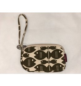 Bungalow 360 Clutch Coin Purse Fish