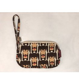 Bungalow 360 Clutch Coin Purse - Happy Dog