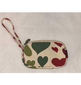 Bungalow 360 Clutch Coin Purse Heart