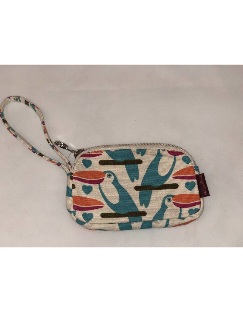 Bungalow 360 Clutch Coin Purse Toucan