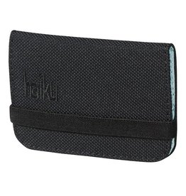 Haiku LLC RFID Mini Wallet Black Juniper