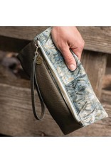 Pistil Have We Met Wristlet Olive Jungle