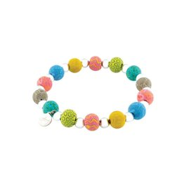 400-043 Gypsy Soul Petite Silverball Bracelet