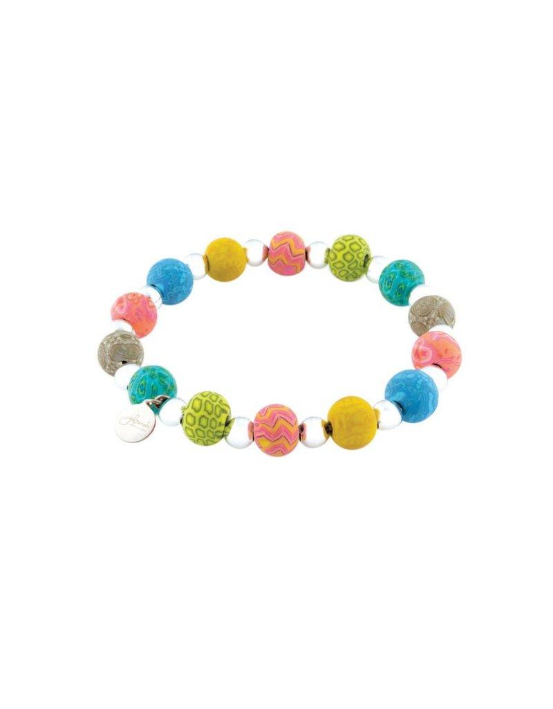 Jilzarah 400-043 Gypsy Soul Petite Silverball Bracelet