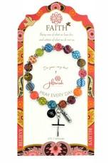 Jilzarah 495-005 Multi Specialty Faith Bracelet