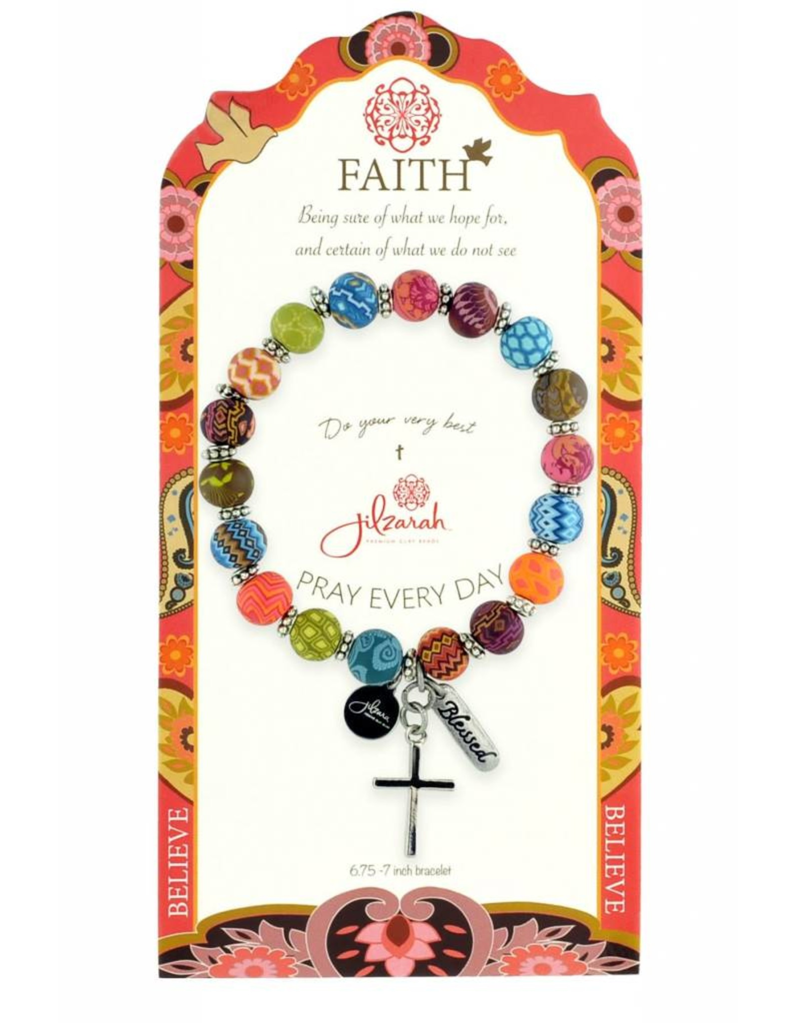 495-005 Multi Specialty Faith Bracelet