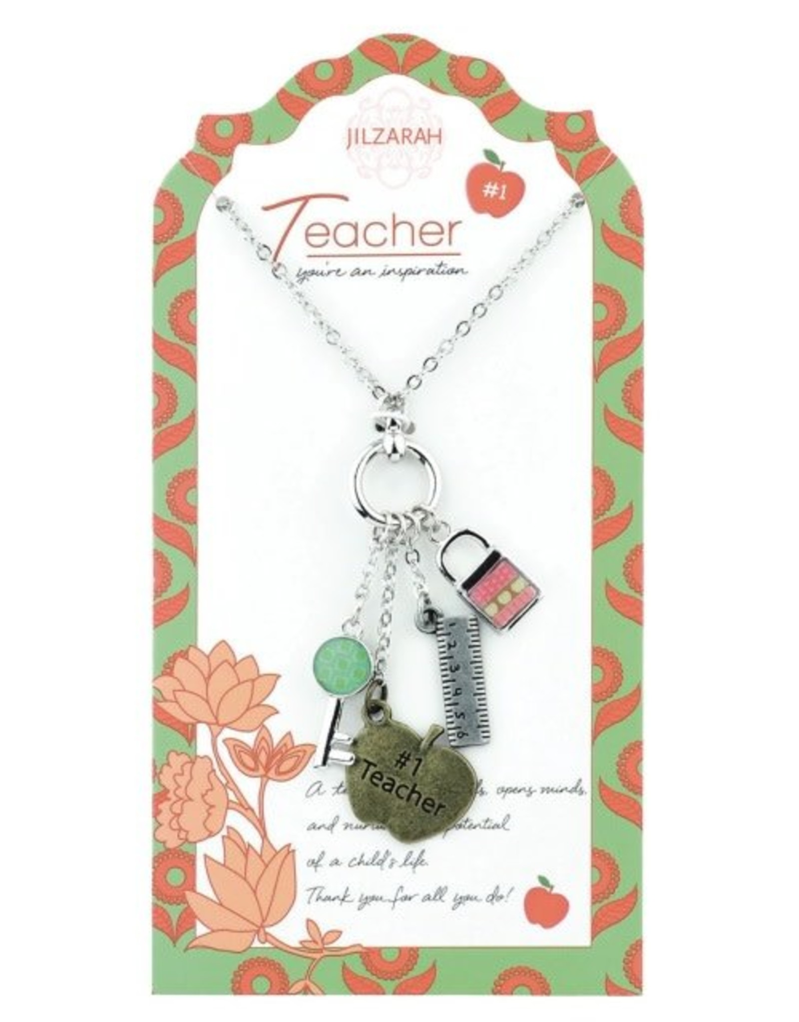 Jilzarah 901-007 Teacher Necklace People We Love