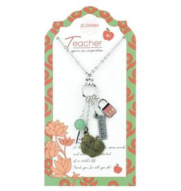 901-007 Teacher Necklace People We Love