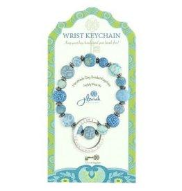 805-028 Cerulean Blue Mini Wrist Keychain