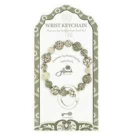 Jilzarah 805-002 Latte Mini Wrist Keychain